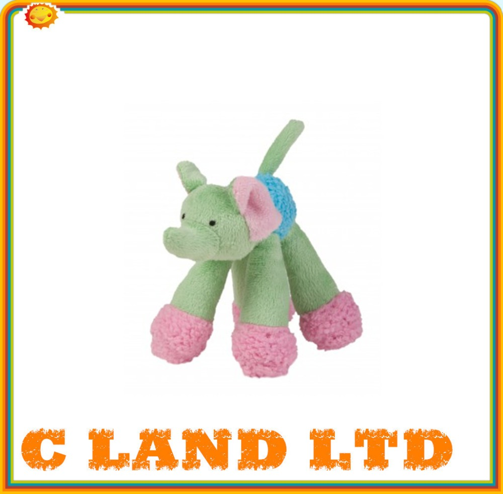 puppy doggy long legs elephant plush pet toy