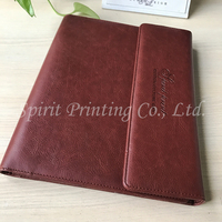 Personal Pu Leather Cover Exeutive Notebook