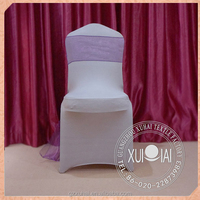 Outdoor party cheap white wedding chair cover