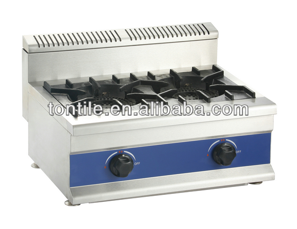 Gas cooking range design with burners chinese kitchen wok stove