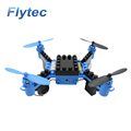 Flytec T11 DIY Building Blocks Drone Headless Mini Drones Toys RC Drone Quadcopter Blue