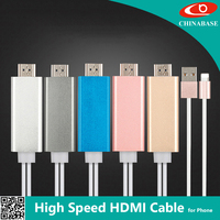 High End trade china phone to hdmi mhl adapter