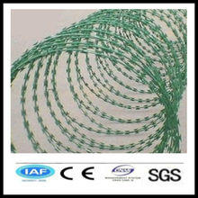 wholesale alibaba China CE&ISO certificated cross razor barbed wire(pro manufacturer)