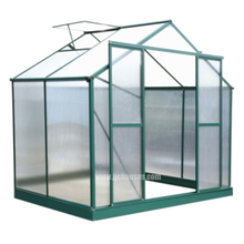 The Cheapest galvanized steel frame greenhouse,Hot Sale Aluminum Alloy Frame Greenhouse,Popular flower home Steel Structure