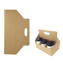 Yilucai Coffee Cup Carrier Coffee Mug Shipping Boxes Coffee Cup Holder