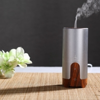 Wholesale car USB mist purifier ultrasonic air humidifier essential oil aroma diffuser