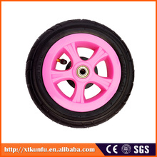 Wholesale Solid rubber baby stroller big wheel