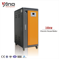 Economical Multiple Protection 100kw 143kg/h Water Tube Boiler to Generate Steam