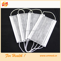 hospital supply non woven medical masks for adult