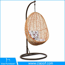 Creative Knited By Hand Rattan Indoor Swing Jhula