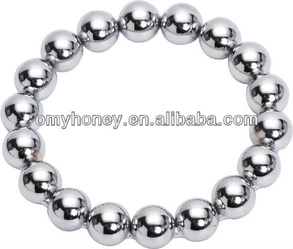 Stainless Steel Hand-Polished Cock Ring Penis Ring Penis Ball Ring Sex Toys for Men SM257