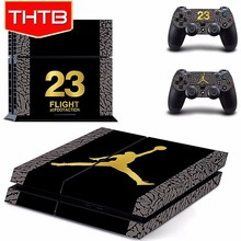 Jordan vinyl decal skin sticker for sony ps4 console controller