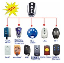 YET003/019/026/042-JR 12 famous brand door remote control compatible for NICE, CAME, BFT SOMMER