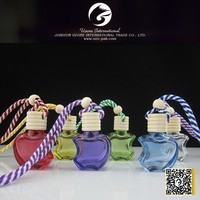 mini crystal perfume bottle, perfume bottle with apple shape