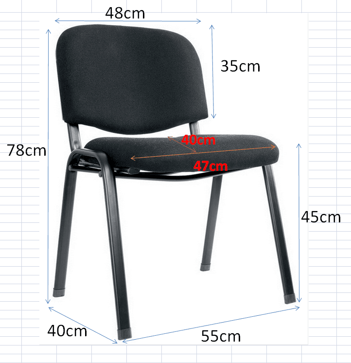 S14# Popular sale stackable conference room chairs, stacking chairs for meeting room