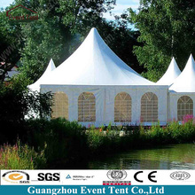 Hot Sale Luxury White House Outdoor Works Tent With Air-Condition