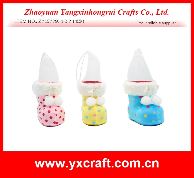Easter decoration (ZY15Y360-1-2-3 14CM) easter spring boot decoration handicraft