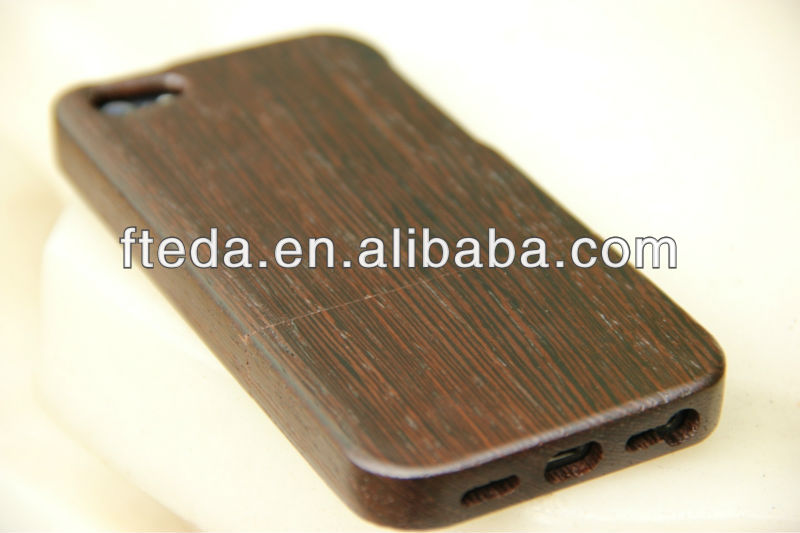 2014 Manufacturer cell phone shell for iphone 5s wooden case