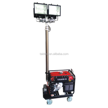 High Bright Outdoor Light Tower Moveable for Emergency Site