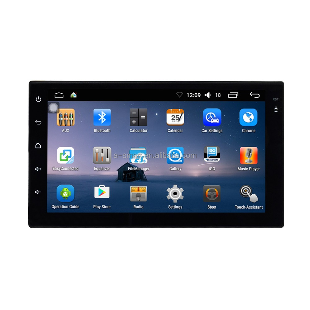 Hot Sale 7ich Android 6.0 Universal Car GPS Navigation Radio Without DVD <strong>Player</strong>