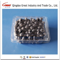 Plastic Box Clear PET Material For Fruit Packaging