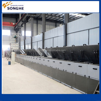 2016 intelligent fiberglass panels making machine with engineers available to service machinery overseas
