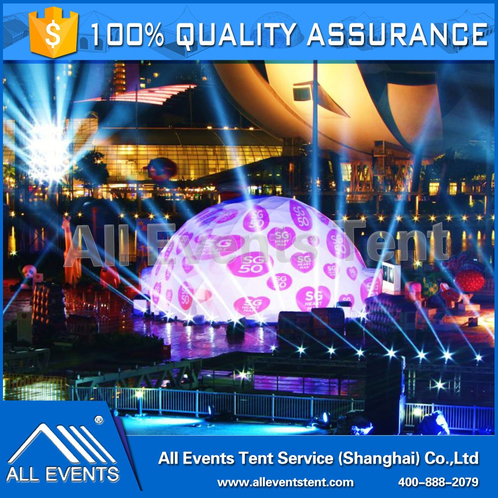 Top Quality Customized Expo Geodesic Dome