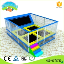 Multi scene use large indoor bungee trampoline