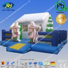 Santa Snow House Inflatable Kids Outdoor Toys and Inflatable castle island