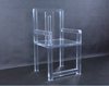 Modern acrylic chair for drawing room