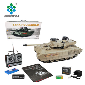 Hot sale 1:20 scale remote control Russian Army T-14 Armata tank