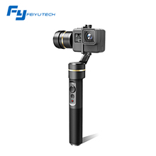 Feiyu FY G5 official store fy-G5 Handheld Gimbal Splashproof compatible with Go pro HERO5,HERO4 and other action cameras