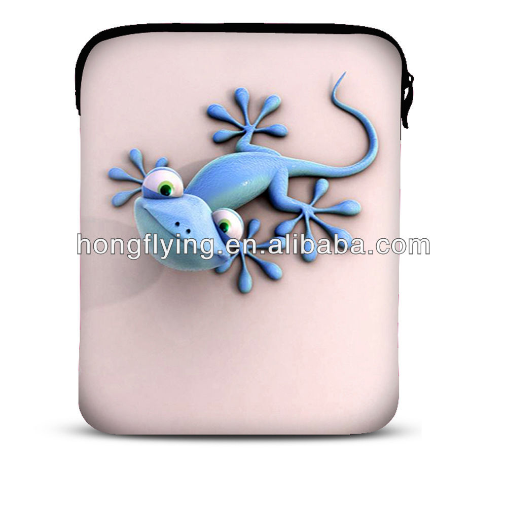 "2014 Newest Lizard Sleeve Bag Case Cover Pouch For 10.1"" Samsung Galaxy Tab / iPad 4,3,2,1"