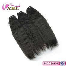 XBL New Style 100% Original Virgin Hair, Straight Virgin Natural Machine Weft Hair