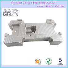 CNC milling natural anodized aluminum parts/cnc machinery milled precision parts/CNC milling aluminum fabricated parts