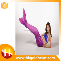 2016 Newest hot sale Mermaid Tail , Swimmable Girls Tail,mermaid tail