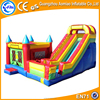 2016 best selling 0.55mm PVC inflatable combo bouncer,inflatable castle with slide