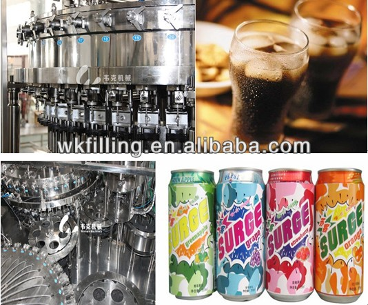 Sparkling Water Gas Water/Carbonated Beverage Filling Production Line
