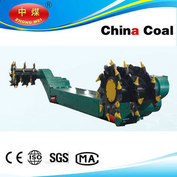 coal mining sharer machine with CE certificate