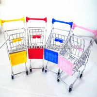 colourful mini children shopping carts toys