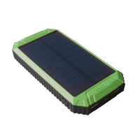 Mini waterproof solar mobile phone USB portable charger