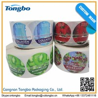 China wholesale products 3d hologram sticker pvc label sticker