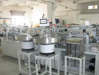 Infusion sets Manufacturing and production lines --Fast Speed -CE