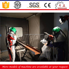 Dustless Sand Blasting Booth/Air Blast Room for Casting Stainless Steel Parts