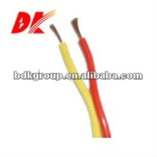 two core pvc insulated connect flexible plaited wire (rvs)