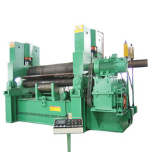 Manual 3 Rolls Small Sheet Roller Bending Machine/asymmetrical 3 roller aluminum