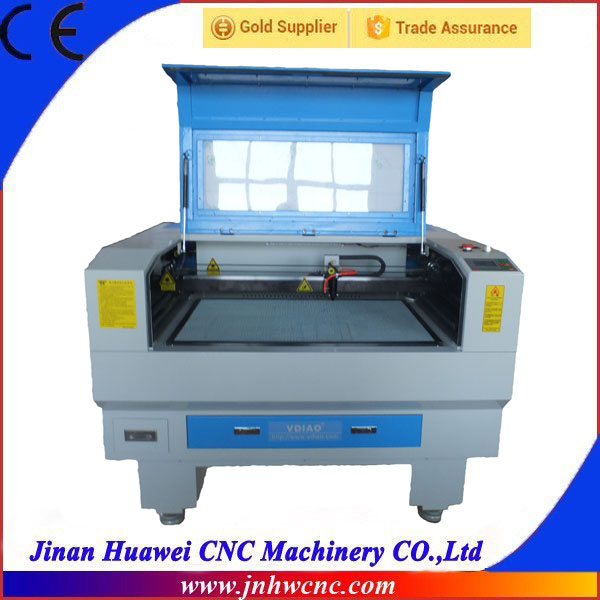 SW-9060 cnc laser cutting wood machine /laser printing for fabric/ acrylic laser cutting machine