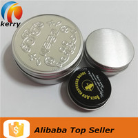 Aluminum Round Tin Boxes Empty Metal Tin Jars Wholesale
