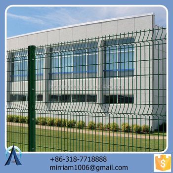 Made in China hot sale Hot dip anti climb cut fence / 3d small openings anti climb cut fence / welded anti climb cut fence