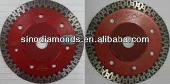 diamond saw blade for ceramic / porcelain cutting for both dry and wet cutting